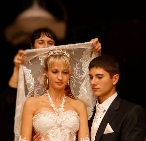 Обряд снятие фаты с невесты видео