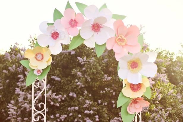 Арки из цветов своими руками фото