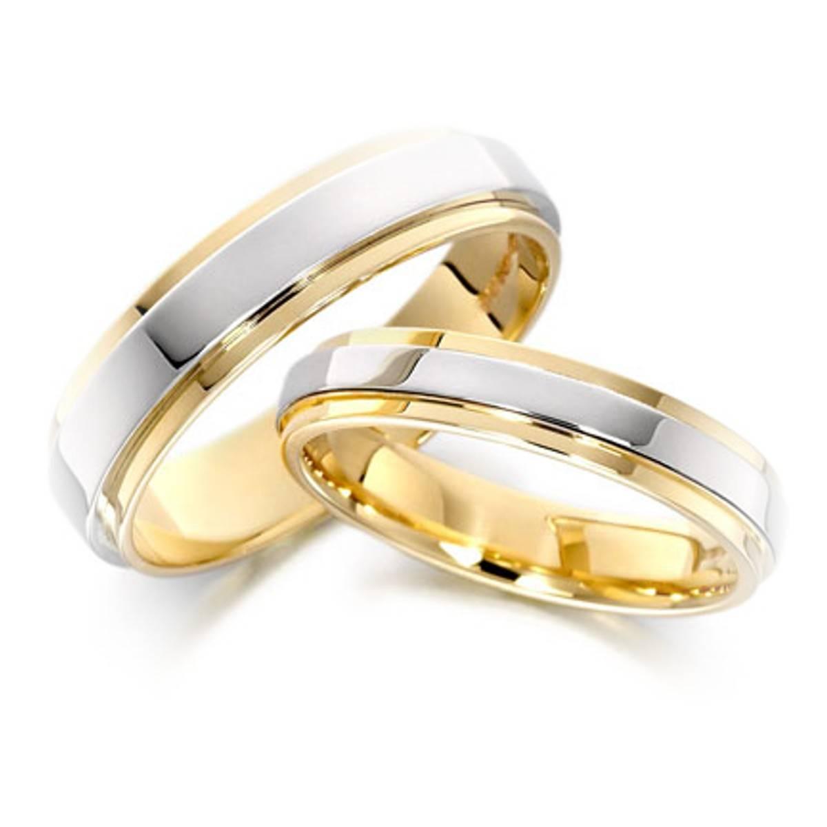 колец обручальных на свадьбе