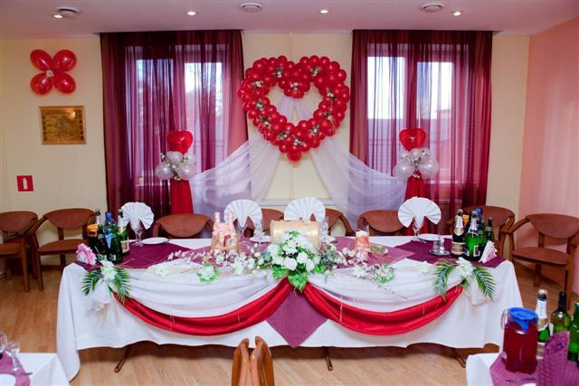 Фото оформления свадебного зала своими руками