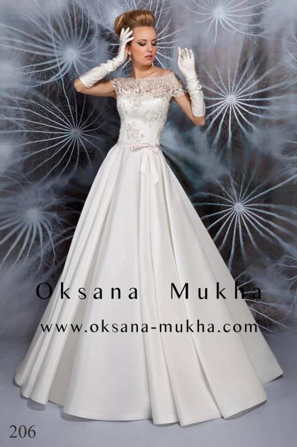 Свадебные платья от оксаны мухи crystal