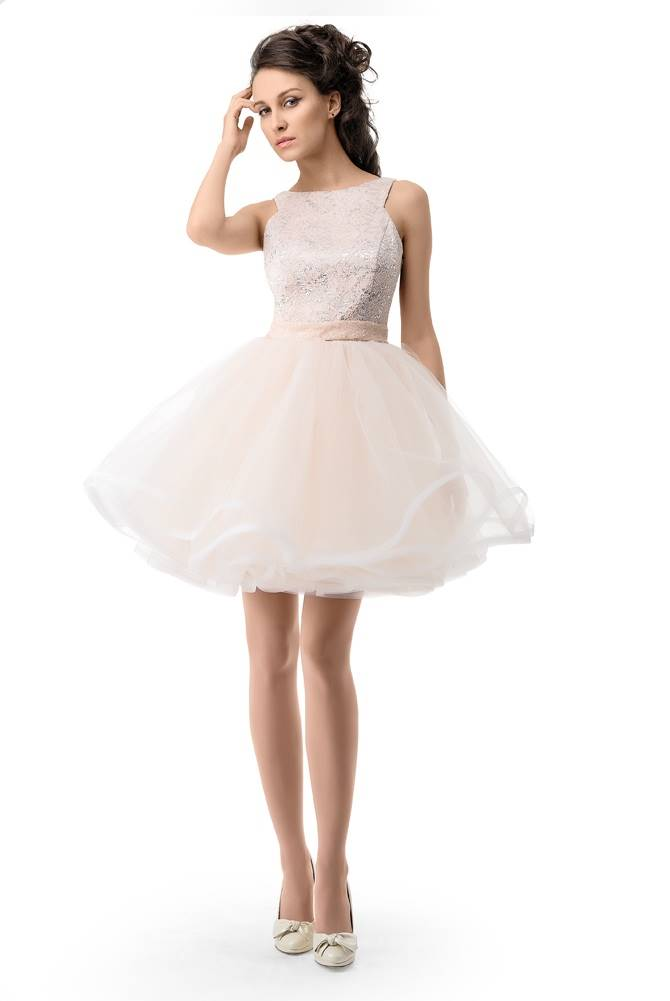 Купить платье белое короткое на свадьбу