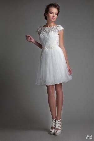 Свадебные короткие платья в омске
