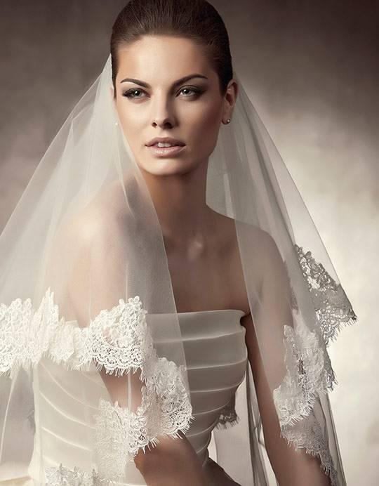 свадебная фата · длинная фата