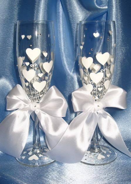 Как украсить свадебное фото своими руками