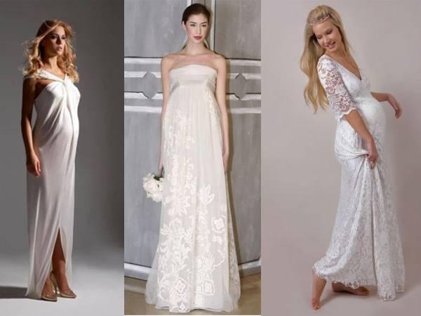 Свадебные платья напрокат для беременных с фото