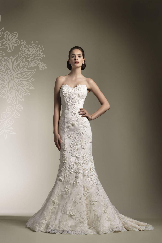 Свадебное Платье Из Кружева Облегающее 86