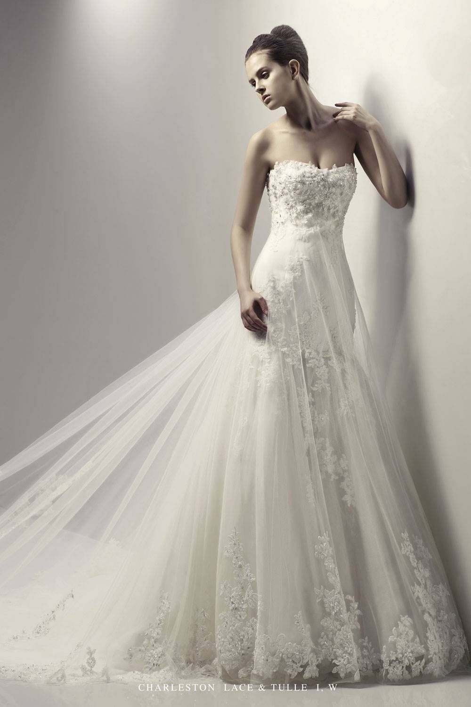 Кружева Свадебное Платье 43