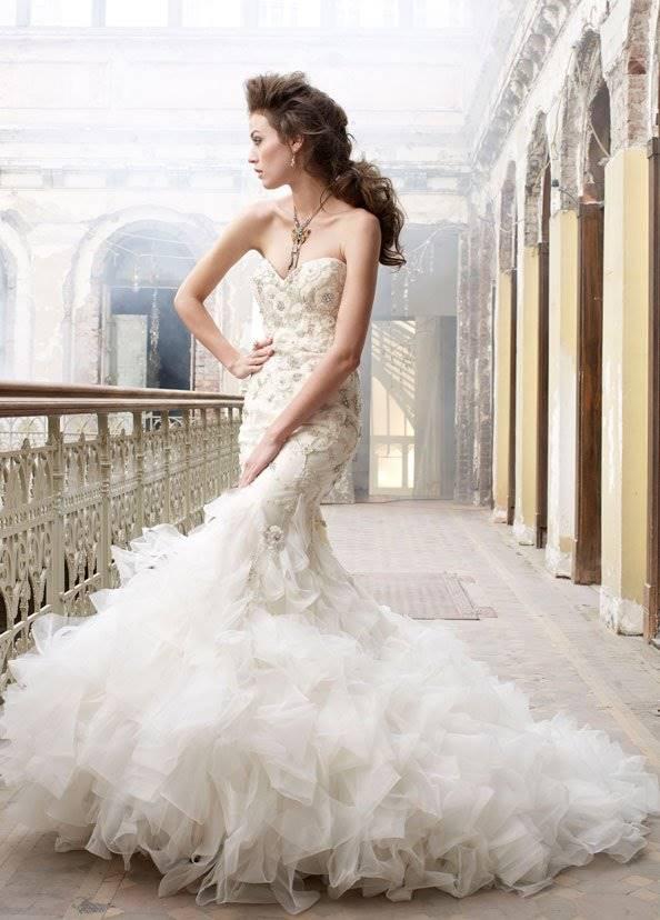 Свадебное Платье Русалка Купить Москва 16
