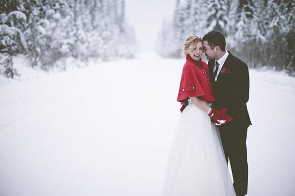 Фото для свадьбы зимой идеи