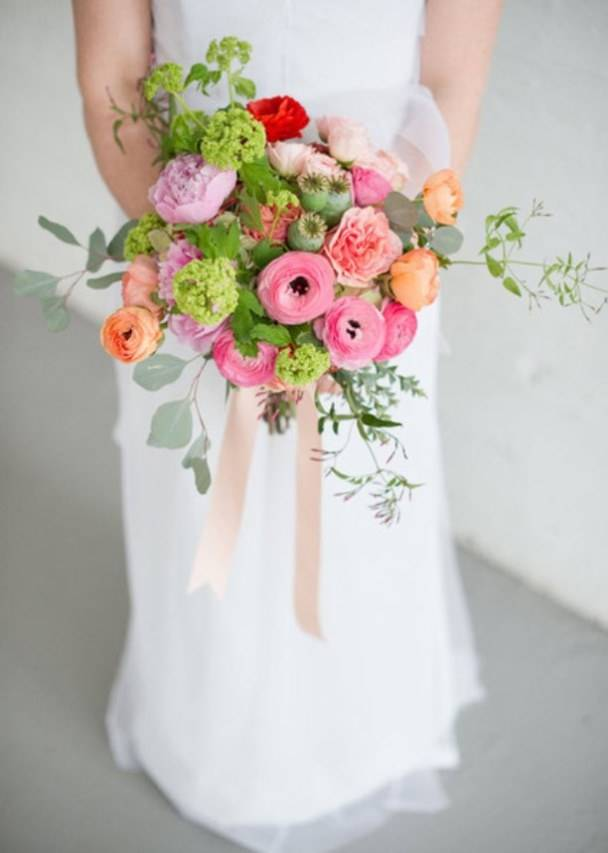 Модные свадебные букеты 2015 года. Фото подборка